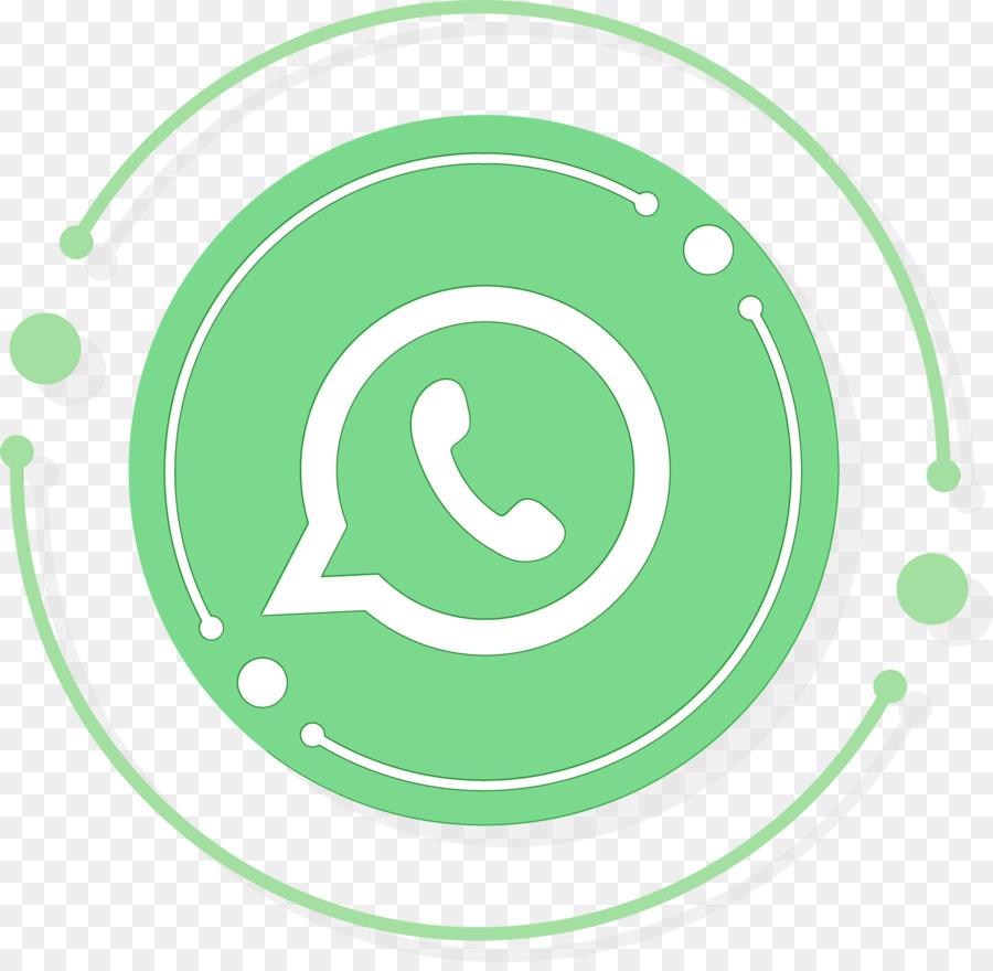 Descarga gratuita de Icono De Whatsapp, Acuarela, Pintura Imágen de Png