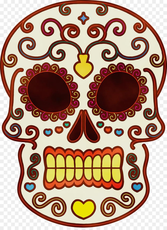 Descarga gratuita de Día De Los Muertos, Cráneo De Arte, Dibujo Imágen de Png