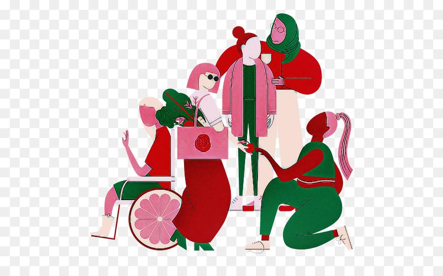 Descarga gratuita de Adorno De Navidad, Santa Claus, Bastón De Caramelo Imágen de Png