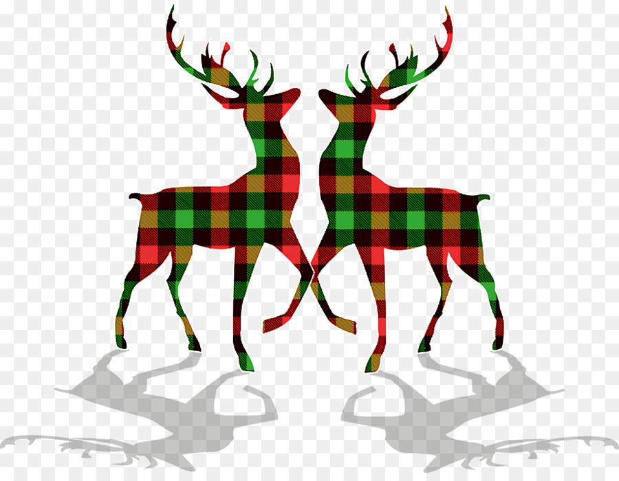 Descarga gratuita de Christmas Day, Los Ciervos, Santa Claus Imágen de Png