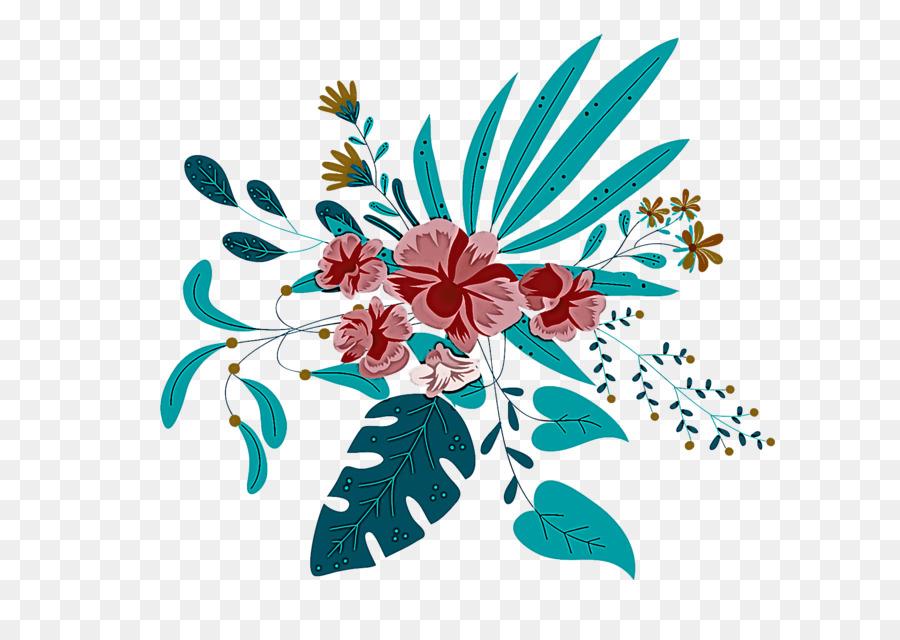 Descarga gratuita de Diseño Floral, Hoja, Las Flores Cortadas Imágen de Png