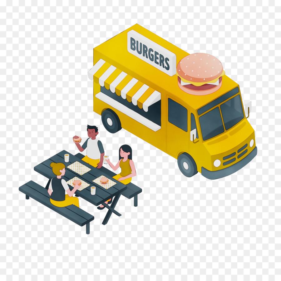 Descarga gratuita de La Comida De La Calle, Comida Rápida, Camión De Comida Imágen de Png