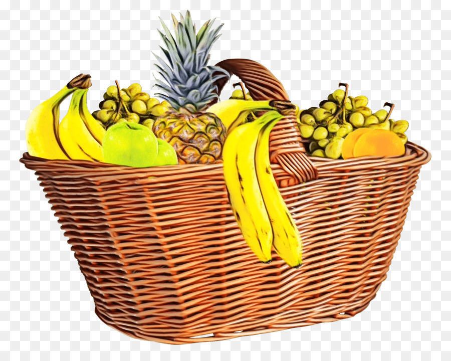 Descarga gratuita de Cesta De Regalo, Cesta, La Fruta Imágen de Png