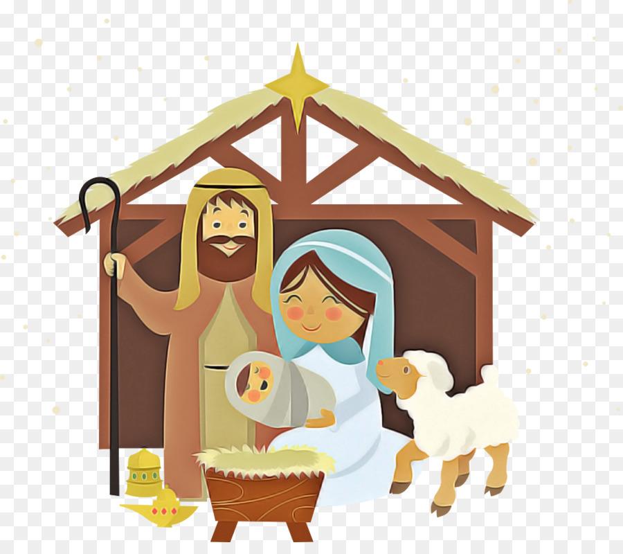 Descarga gratuita de Escena De La Natividad, Christmas Day, Pesebre Imágen de Png