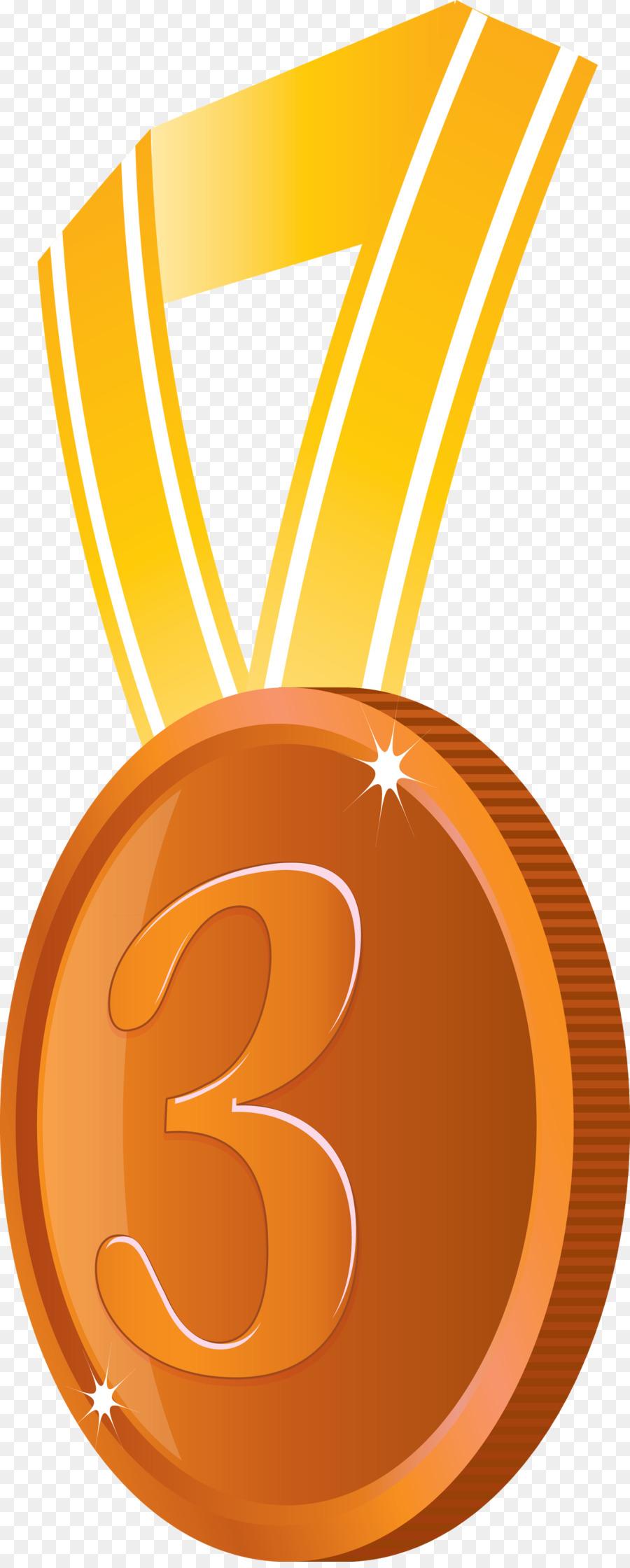 Descarga gratuita de Medalla, Naranja, Oro Imágen de Png