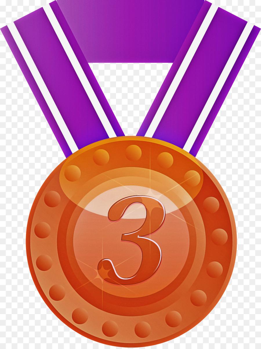 Descarga gratuita de Naranja, Medalla, Insignia Imágen de Png
