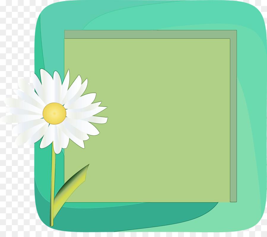 Descarga gratuita de Flor, Verde, Marco De Imagen Imágen de Png