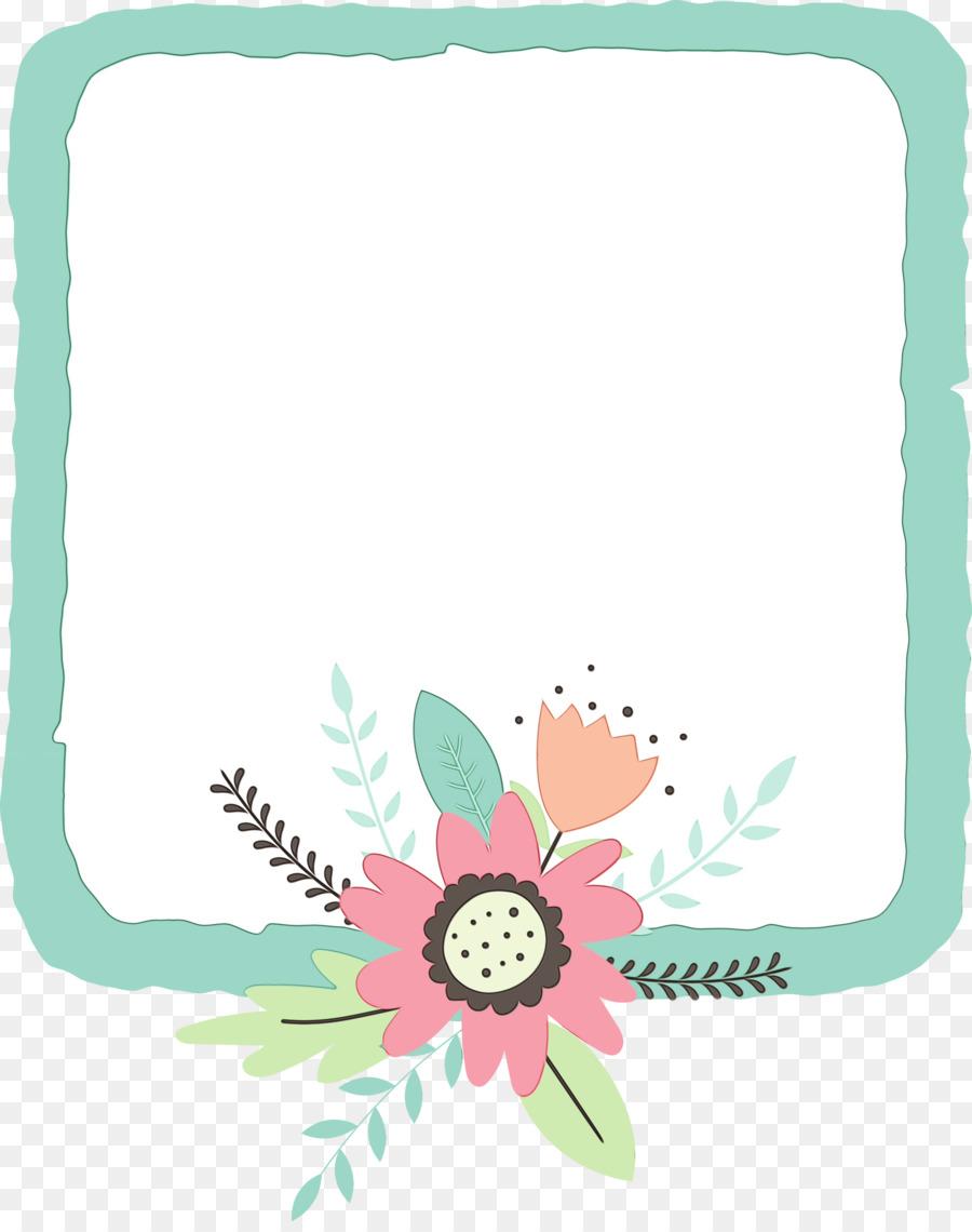 Descarga gratuita de Diseño Floral, Flor, Rectángulo Imágen de Png