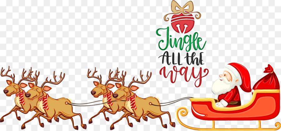 Descarga gratuita de Rudolph, Santa Claus, Christmas Day Imágen de Png